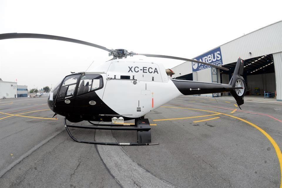 Esta aeronave, comprada por Ecatepec en $12 millones, permanece arrumbada desde 2012, pese a lo cual el Ayuntamiento ha gastado al menos $4.9 millones más en un helicóptero similar. Foto: Cortesía de R.A.