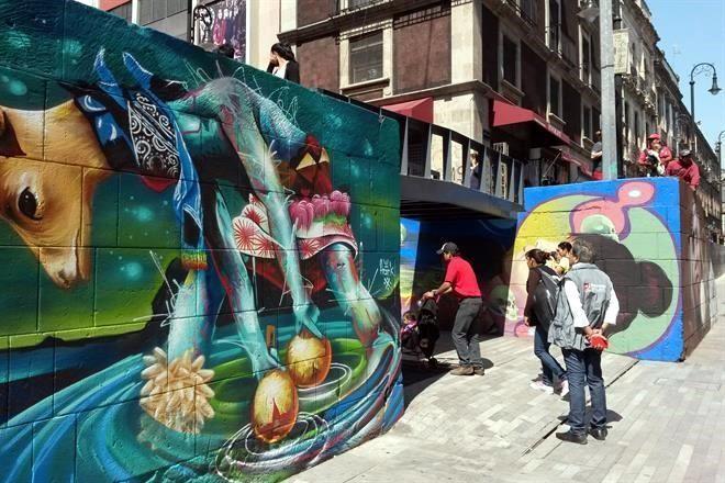 Resultado de imagen para la santisima trinidad graffiti centro