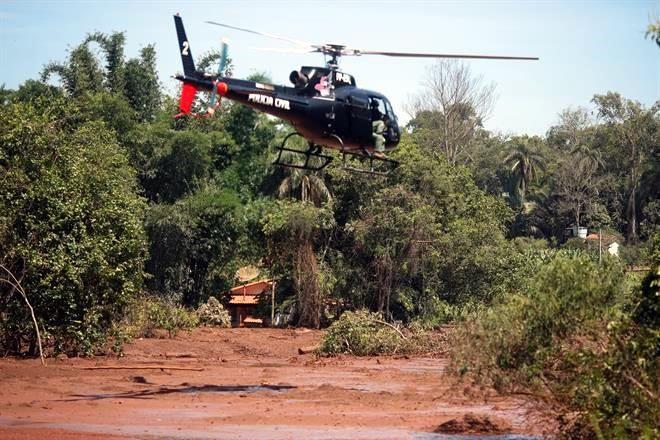 Resultado de imagen para LLEGA A 228 CIFRA DE MUERTOS POR DESASTRE MINERO EN BRASIL