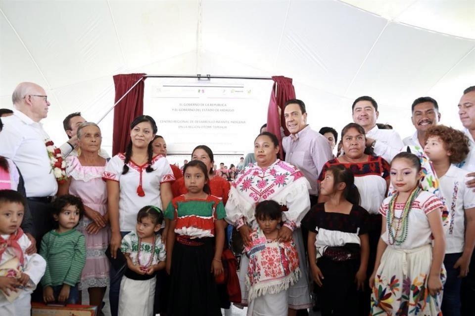 Inaugura Narro guardería indígena en Hidalgo