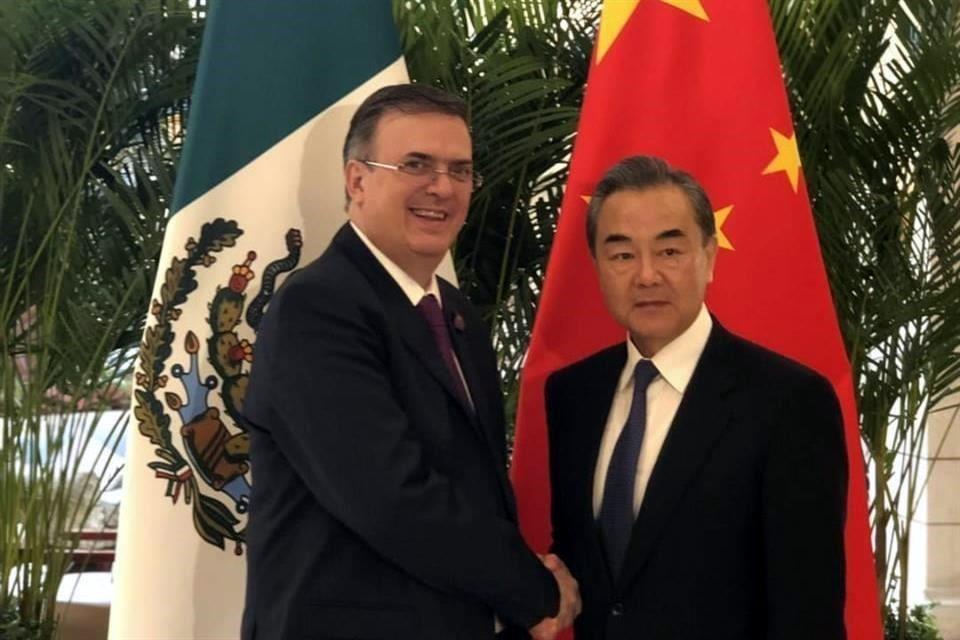 Queremos ampliar exportación a China.-Ebrard