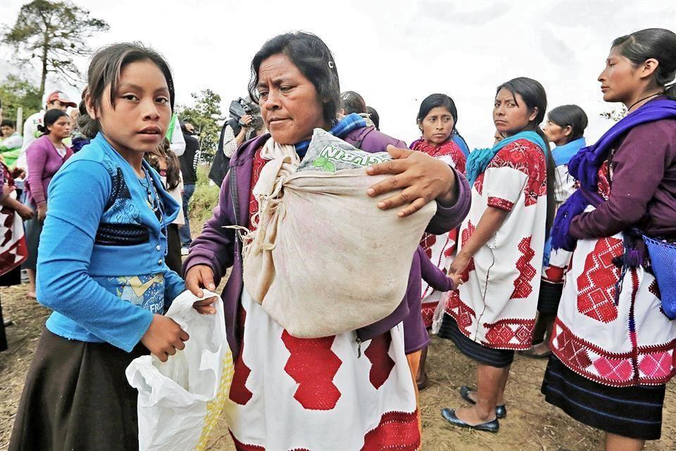 Desplazados de Guerrero, sin apoyo de autoridades, acusan<br>