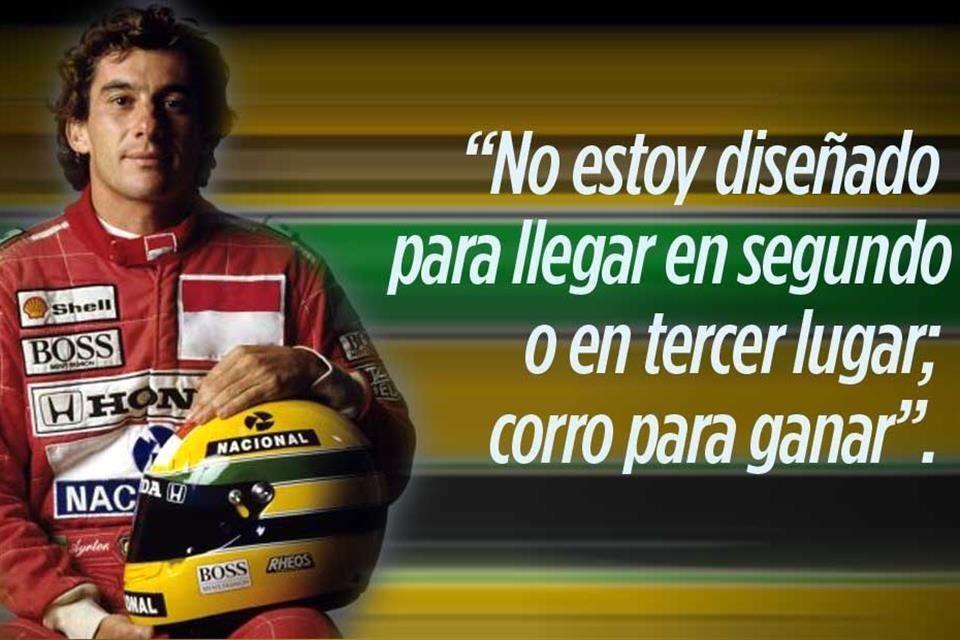 Nacido Para Correr 8 Frases De Senna