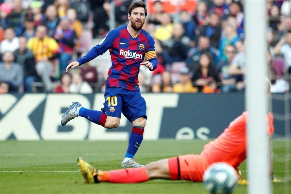 Marca Messi Poker Con El Barcelona