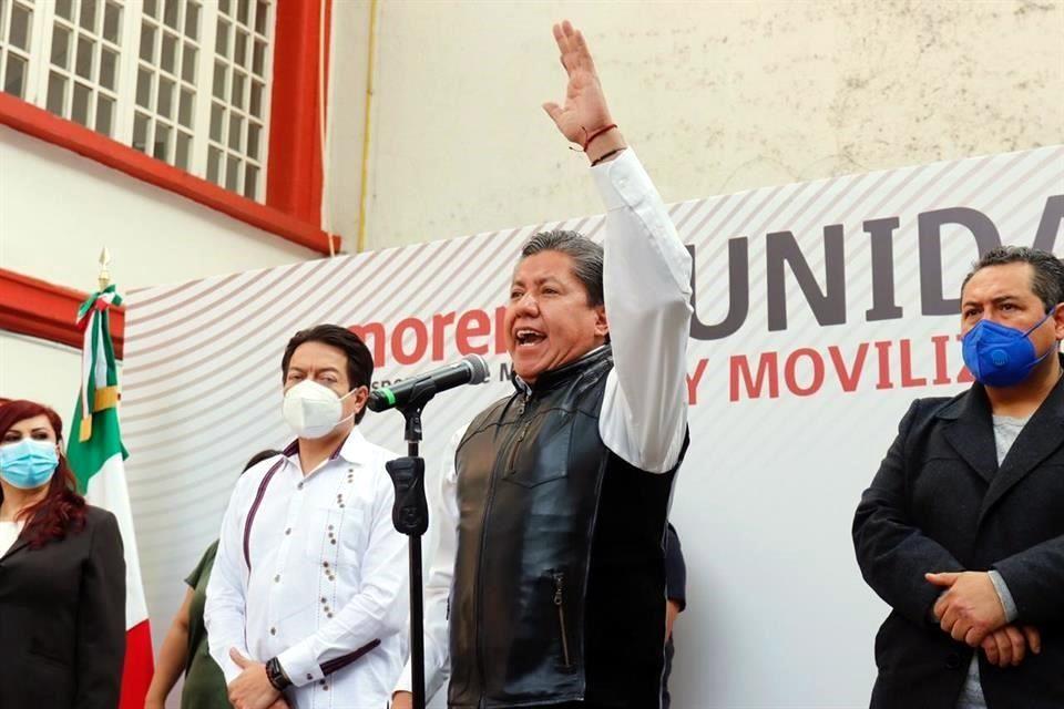 Va Morena con David Monreal por Zacatecas