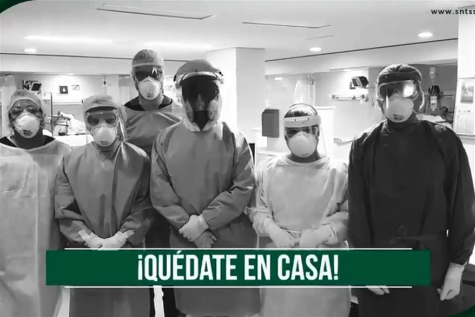 Suplican médicos: si no nos ayudas, no vamos a resistir