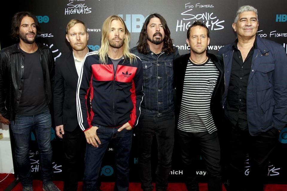 Lanza Foo Fighters disco... ¡de 10!