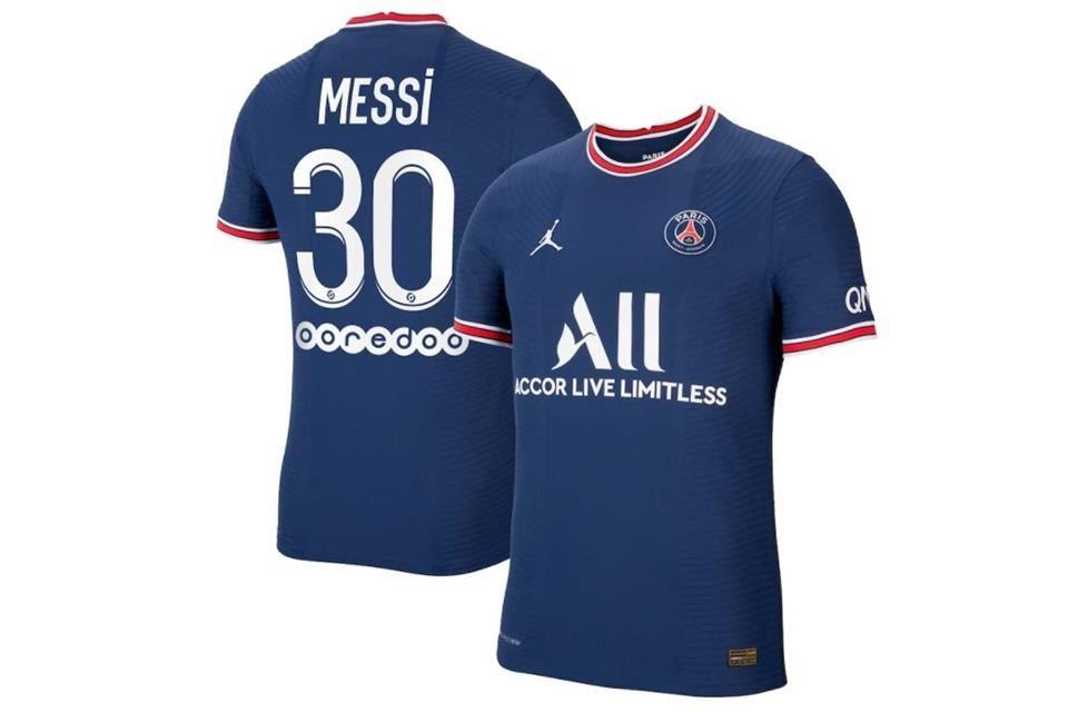 Cuánto cuesta la playera de Messi con el PSG?