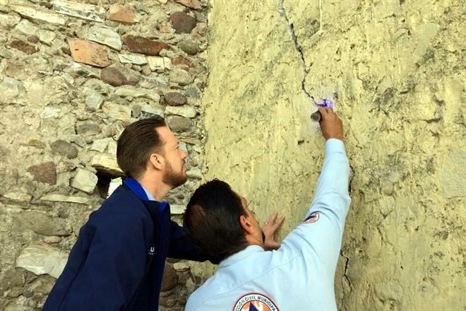Calculan 300 edificios dañados en Puebla