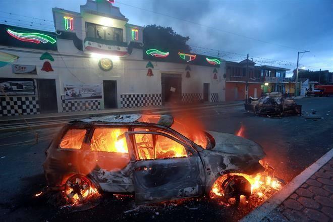 #TIANGUISMANALCO Intentan linchar a uno en Puebla