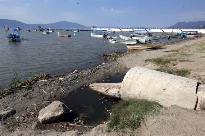 Resultado de imagen de lago chapala contaminacion
