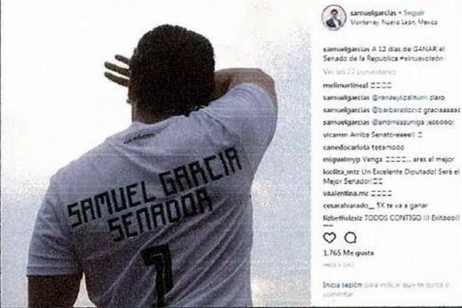 ¡por camiseta! El TEPJF reconoció ayer que el candidato de MC al Senado  sacó provecho del uso de marcas en playeras de la Selección Nacional y de  Tigres. b8fc808461cdb