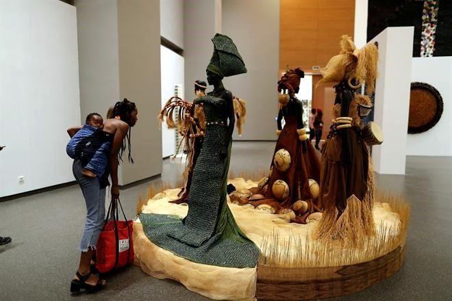 Resultado de imagem para fotos e imagenes del Nuevo Museo de las Civilizaciones Negras llama a casa