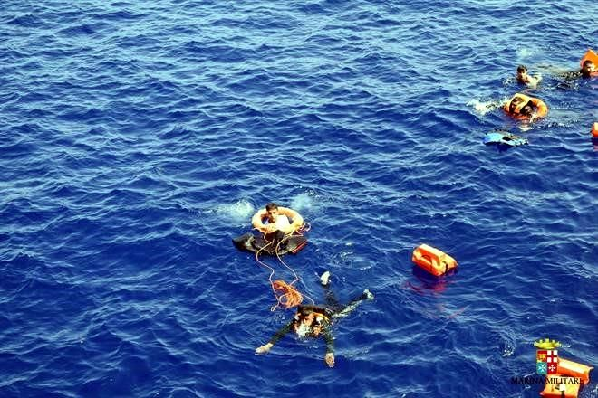 Naufragio de migrantes en el Mediterráneo